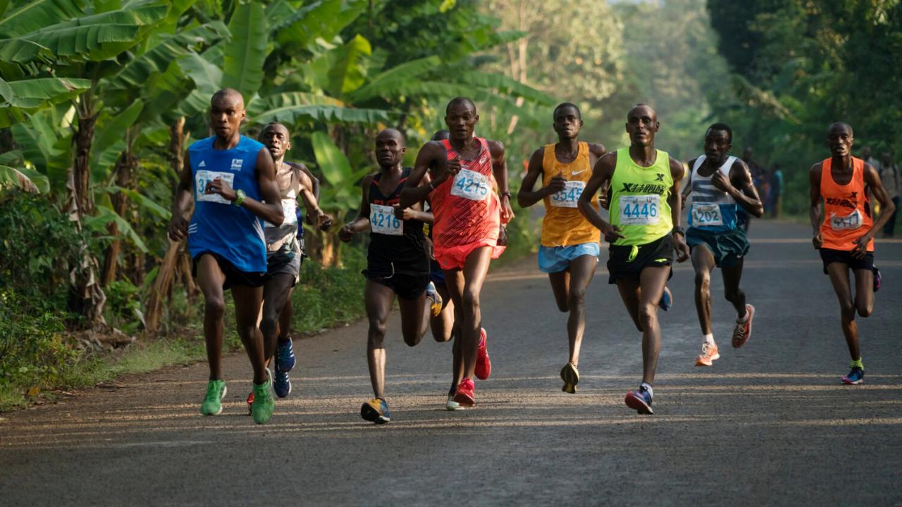 Run A Marathon in Winter season Tanzania