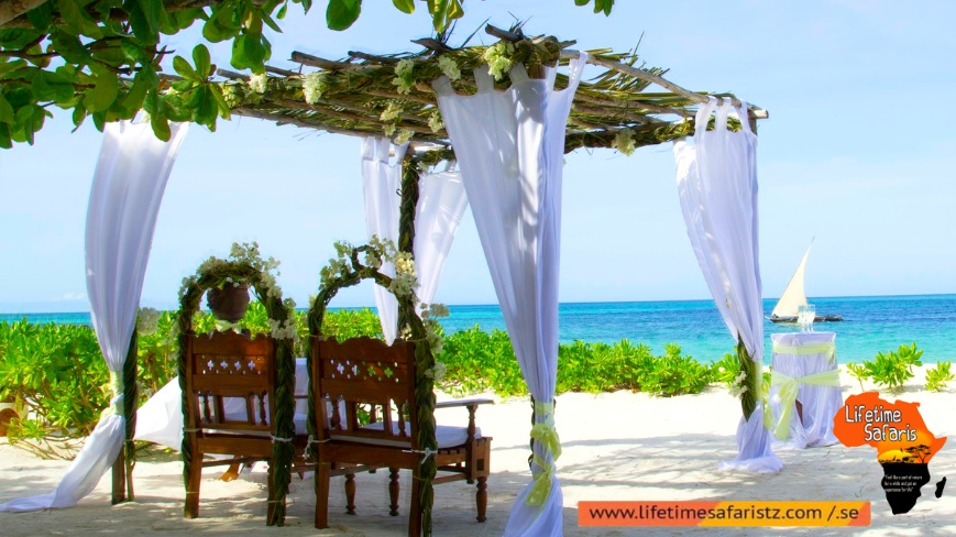 Experiencing Your Wedding On The Beach Of Zanzibar