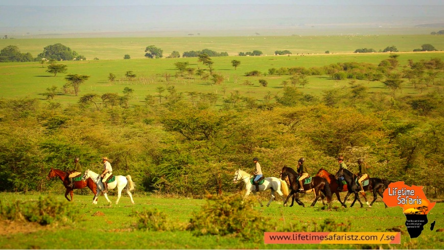 Tanzania Horse Riding Safari