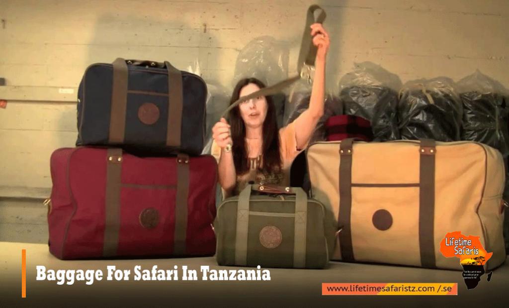 Baggage For Safari In Tanzania