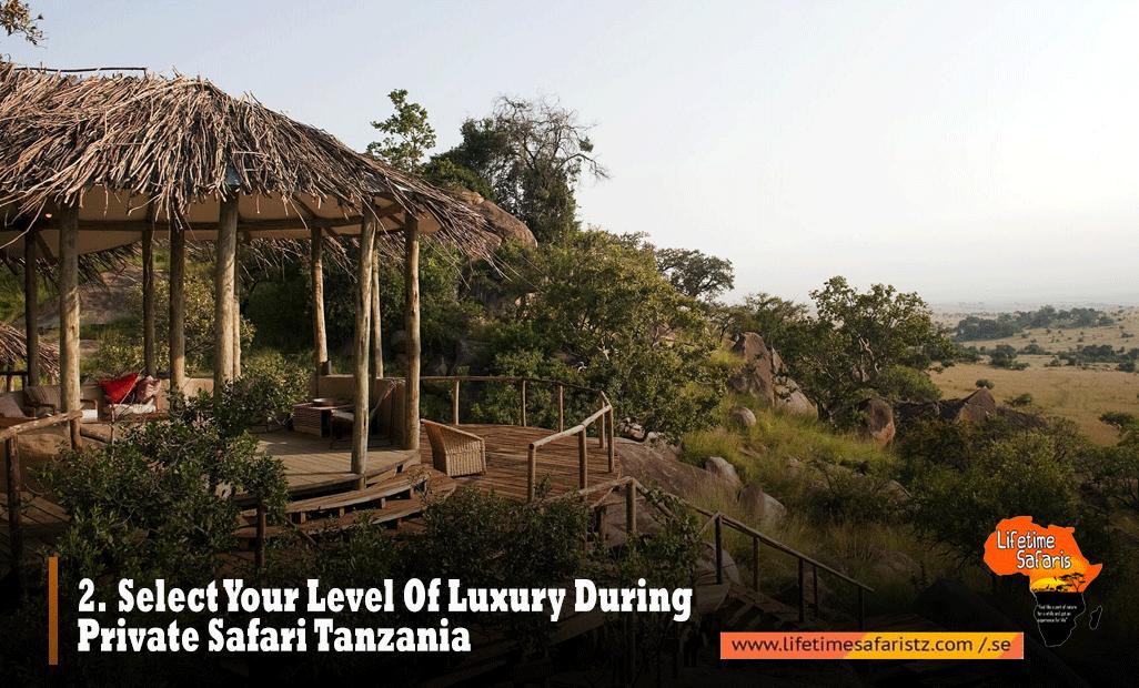 Luxury Private Safari Tanzania